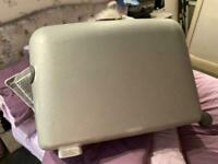 Suitcase; large good condition with key