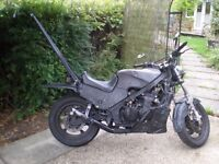 1985 Kawasaki GPZ 600R Rat Bike Long MOT!