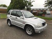 2003 Suzuki Grand Vitara 2.0 td 12 months mot/3 months parts and labour warranty