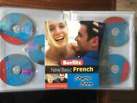 NEW French Berlitz Basic CD Language Pack