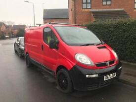 Vauxhall Vivaro SWB Van RCL 18 inch black alloys DVD/TV £750 Swap/PX/Offers Spares/Repairs