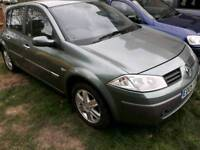 +++RENAULT MEGANE DIESEL 2005 PLATE+++ONE INJECTOR NEEDS CHANGING STILL DRIVES+++