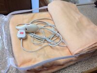 Electric Blanket-`Cozee Cumfort'-Double OVER Blanket. Model PL3/S
