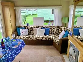 Static Caravan Holiday Home For Sale on Family park with 3 Swimming Pools near Helston Cornwall