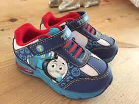 Thomas the Tank Engine light up trainers (NEW!)