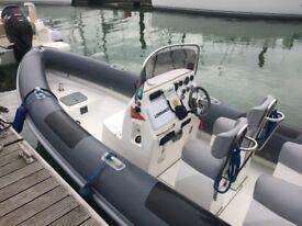 Coastline 7.0m RIB Diesel 2.0 Ltr Inboard for Sale