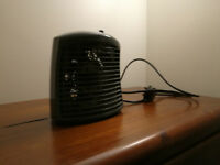 portable heater heating