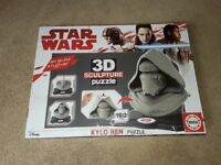 NEW STAR WARS KYLO REN 3D PUZZLE