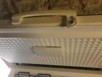 Lockable chest freezer