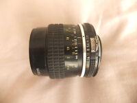 Nikkor Nikon 55mm AI Macro £120
