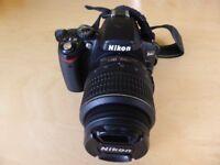 Nikon D40 DSLR and plenty of kit