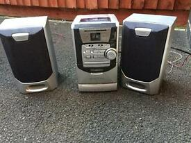 Digital radio/cd player