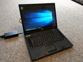 HP Compaq nx7400 laptop core 2 duo Windows 10 professional