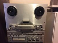 Teac X-2000R Silver Open Reel Audiophile Stereo Tape Deck - Reel to Reel - Silver