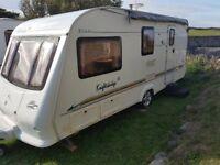Elddis Knightsbridge 524 Touring Caravan 2003