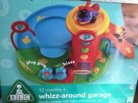 Whizz-around garage for sale