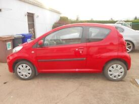 2012 peugeot 107 urban MOT to FEB 19