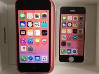 iPhone 5C pink EE / Virgin Excellent condition