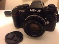 Nikon SLR Film Camera For Sale
