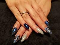 Gel polish, overlays, infills & nail extensions