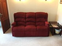 HSL Linton Comfort Suite - 4 Piece Suite - Riser Recliner Chairs - 3 seater sofa