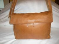 Tan Ladies soft leather bag