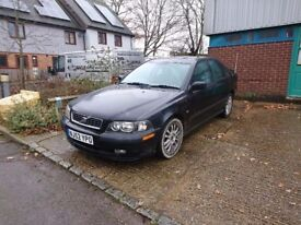Volvo ST 4 Black 2002 MOT 1 previous owner Great car