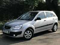 2009 KIA RIO CHILL, 1.4 ENGINE, 5 DOOR HATCHBACK, ONE OWNER FROM NEW & NEW MOT.