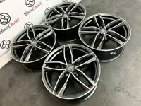 """NEW 18"""" 19"""" 20"""" AUDI RS STYLE ALLOY WHEELS - ALSO AVAILABLE WITH TYRES - 5 x 112"""