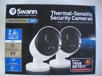 SWANN CCTV BULLET CAMERAS 5MP THERMAL SENSING SECURITY HOME SAFETY