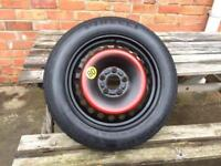 "Ford 5 Stud 16"" Space Saver Spare Wheel Focus, C Max, Mondeo"