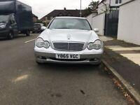 Mercedes LOW MILEAGE 41,000 , C CLASS, 2001, Automatic, 2597 (cc), £1200 ONO