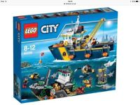 Lego City 60095 Deep Se Exploration Vessel New and unopened