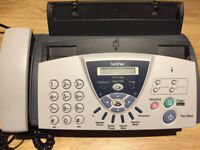 Brother Fax Machine £10 -- Good working order -- can deliver if local