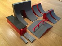 Tech Deck Ramps - selection - see photos