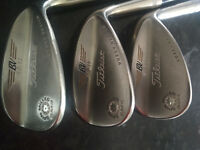 Titleist Vokey Wedges 52,56,60 Degree Lofts