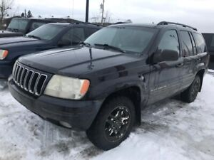 2002 Jeep Grand Cherokee Limited Leather Sunroof V8 4x4