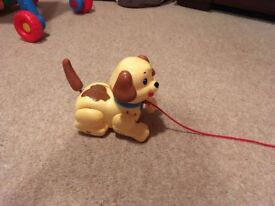 Fisher price lil snoopy dog toy