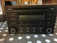 Radio/CD player from a T5 VW Transporter All in working order
