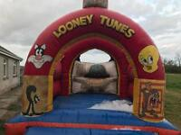Large industrial size bouncey Castle