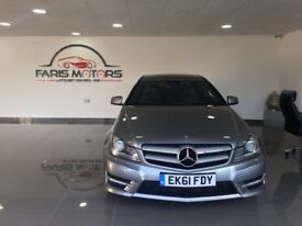 Mercedes-Benz C Class 2.1 C250 CDI BlueEFFICIENCY AMG Sport Edition 125 7G-Tronic 2dr