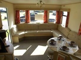 CHEAP 8 Berth Caravan For Sale Borth Nr Aberystwyth West Wales- Open 12 Months! Not Haven