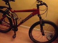 Mountainbike Specialized second hand only £230.00 asap thanks
