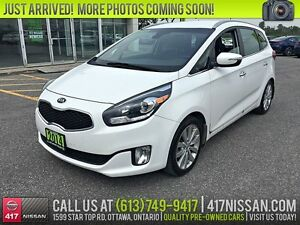 2014 Kia Rondo EX Luxury | 7-Passenger, Leather