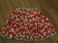 Joules ladies skirt size 16 xl