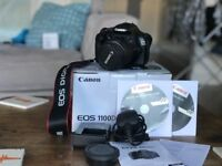 Canon EOS 1100D Camera - w/ 18-55mm II lens
