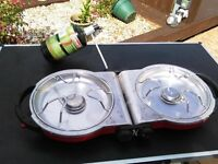 COLEMAN PURE-FLO TWIN GAS STOVE