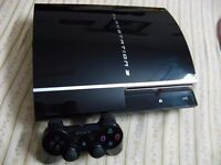 Sony PS3 80GB FAT, 1 Controller, MW3, Leads, Perfect working order