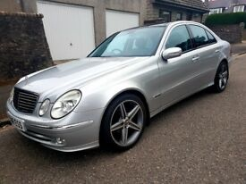 "Mercedes E CLASS CDI AVANTGARDE AUTO ""NOT MANUAL"" Low Mileage."