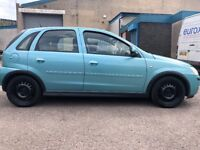 Vauxhall Corsa 1.4 petrol automatic MOT low mileage 67,000 on the clock engine gearbox Excellent
